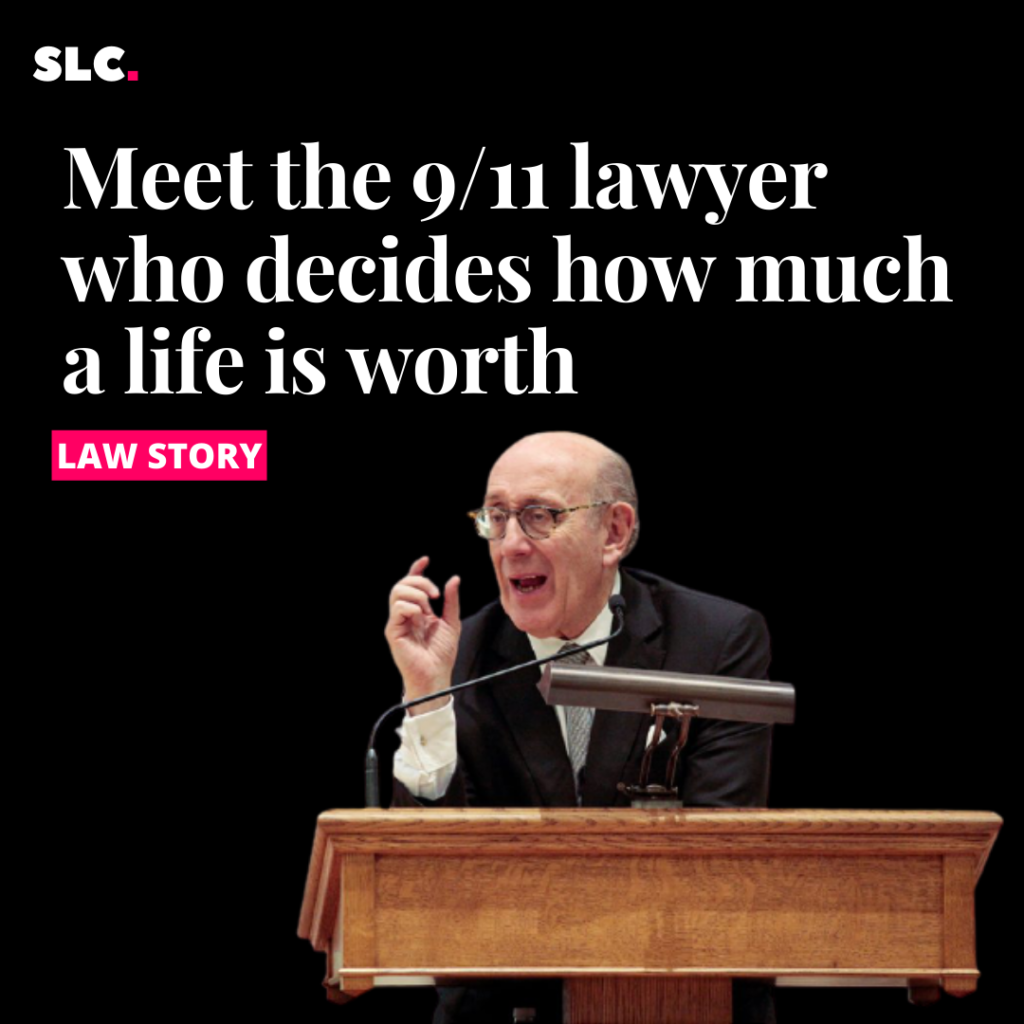Meet the 9/11 lawyer who decides how much a life is worth